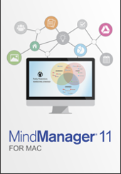 MindManager11 Mac flat front small EN